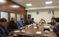 نشست اعضای تحریریه مرکزی با ریاست عالی سازمان سفیر۸